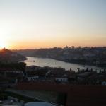 Charme de Porto au coucher du soleil